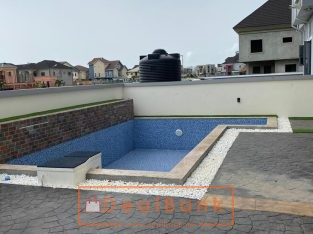 5 bedroom duplex with bq pool fully furnished
